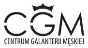 Centrum Galanterii Męskiej Logo